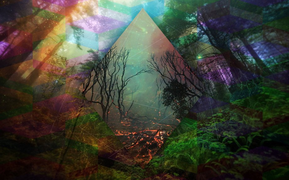 abstraction_line_color_forest_trees_fantasy_fire_flames_dark_mood_artwork_art_photoshop_psychedelic_1920x1200